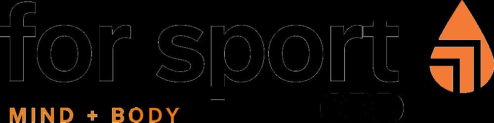 For Sport CBD Logo